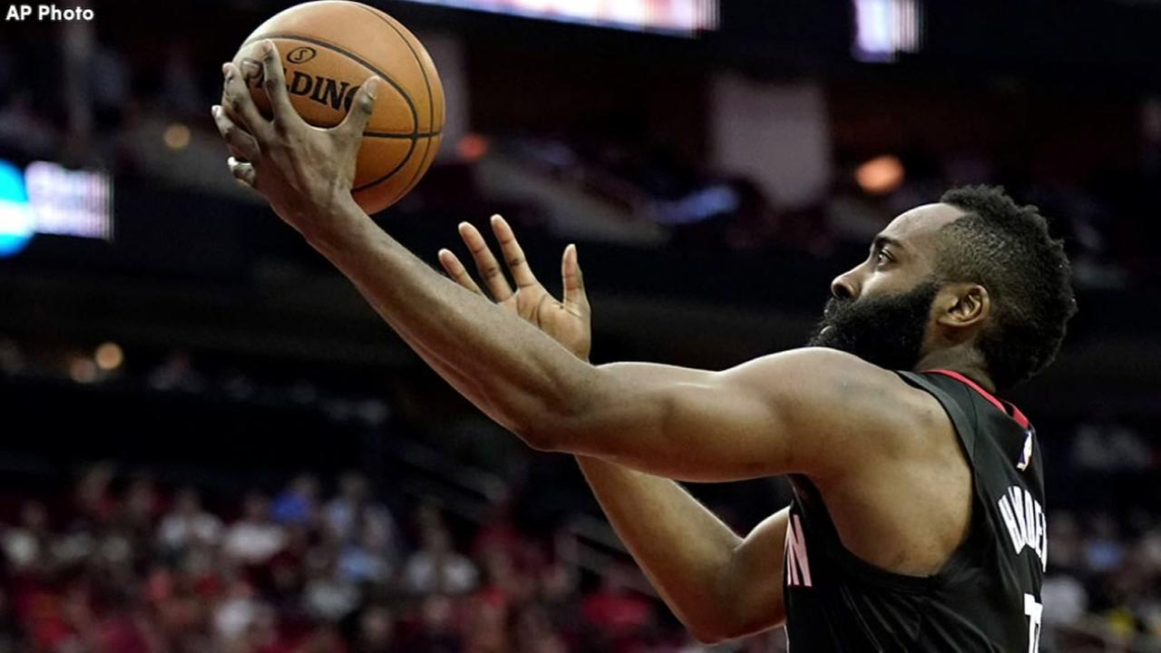 James Harden goes 0-for-8 from 3-point land in ugly win vs. Detroit