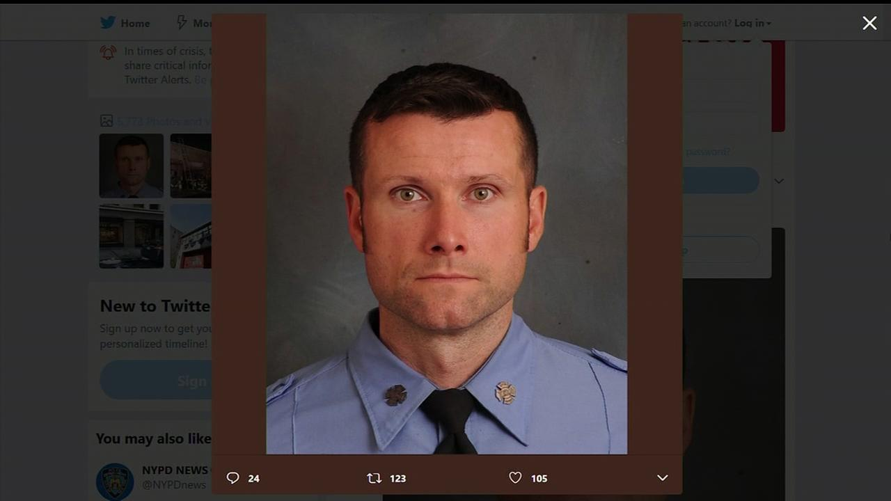 NY firefighter dies after movie set catches fire