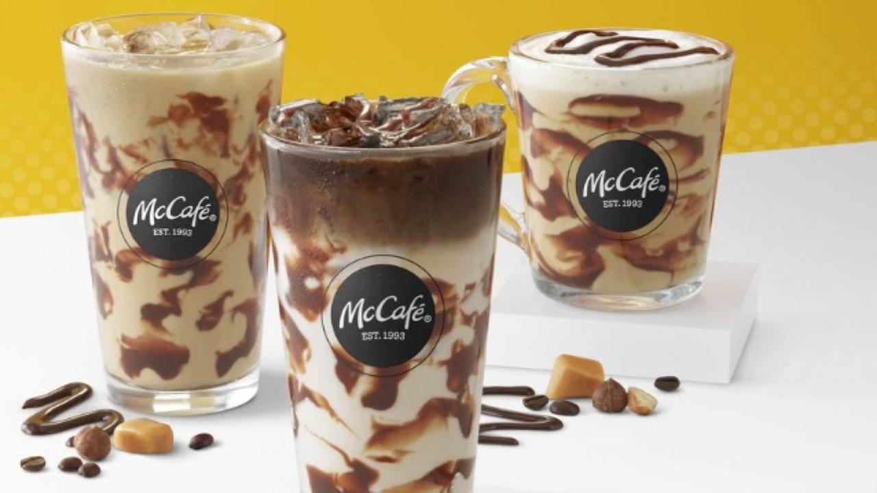 McDonalds just added three new coffee drinks to their menu
