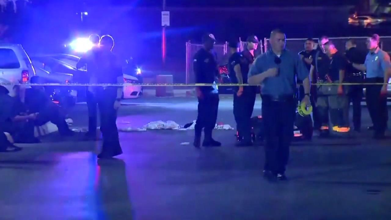 3 shot after large fight in Topgolf parking lot