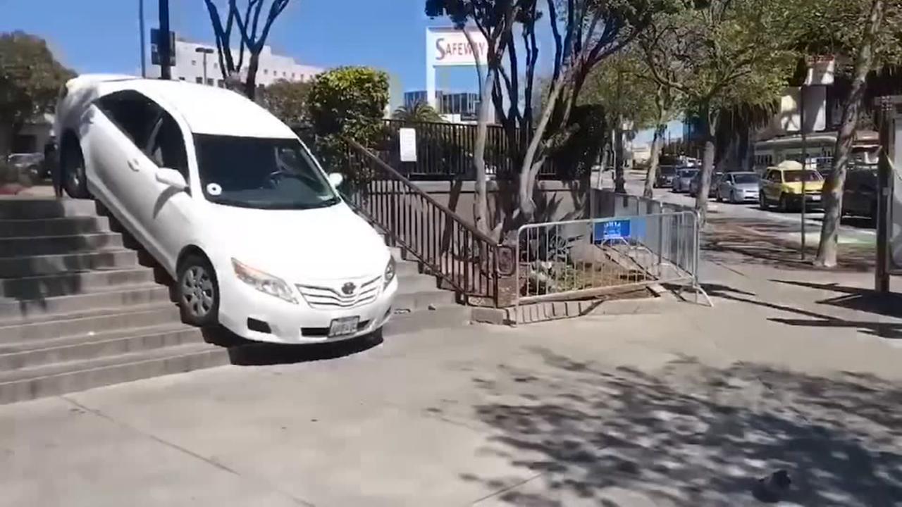 Uber down steps