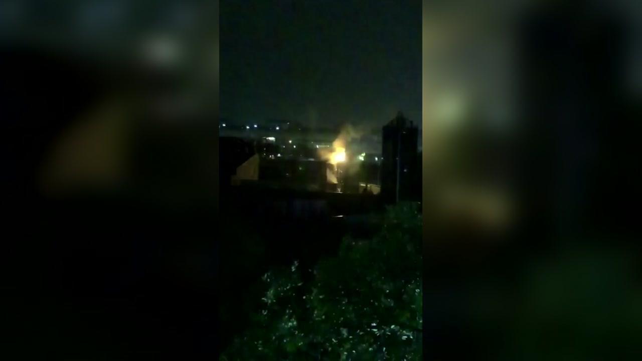 Transformer fire near University of Houston