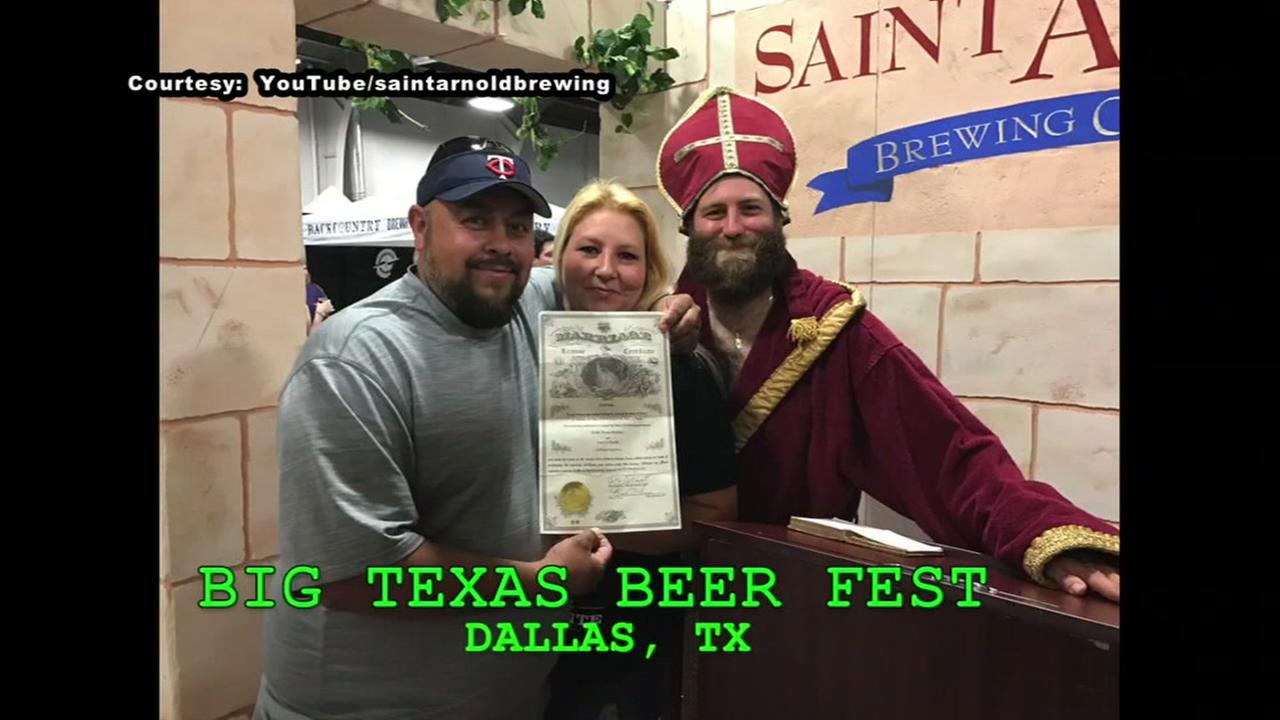 St. Arnold paying for beer-loving couples honeymoon
