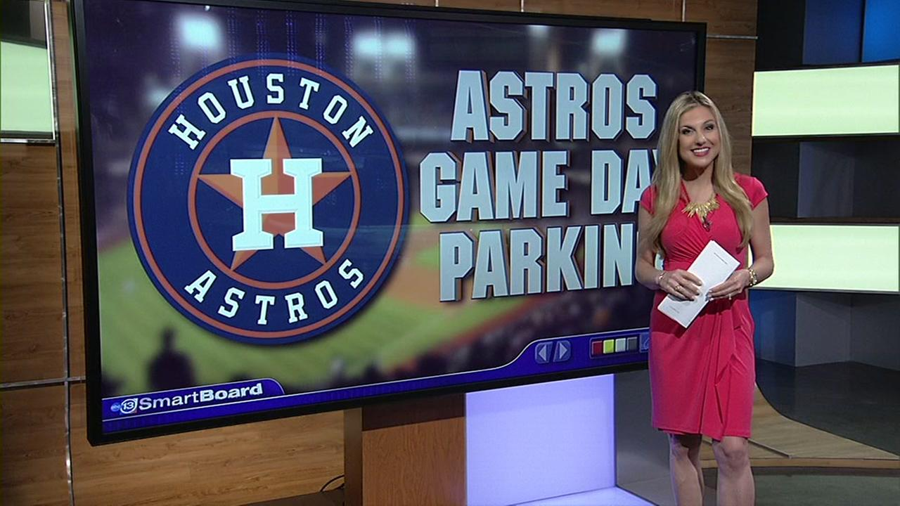 Getting around downtown for Astros parking