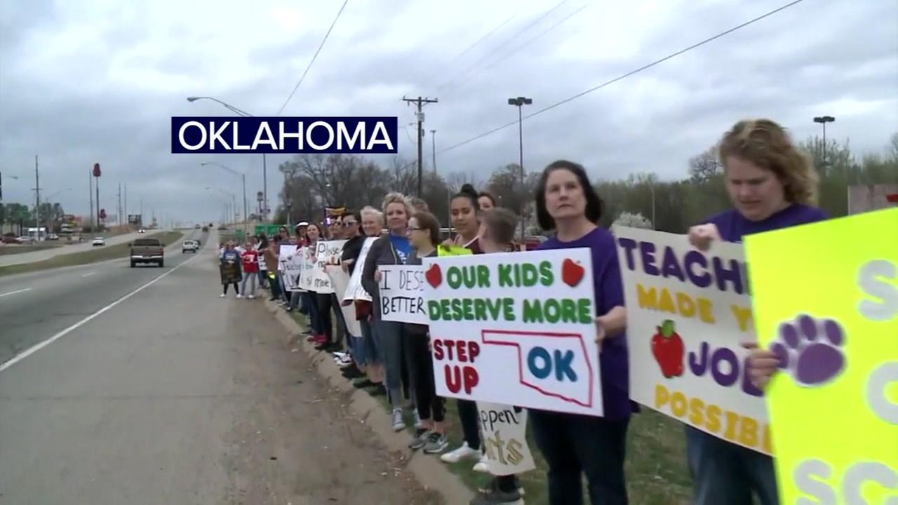 Tens of thousands of teachers planning massive rallies and classroom walkouts