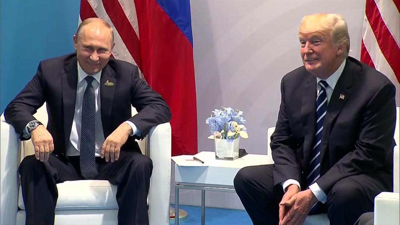 Kremlin: Trump invited Putin to White House, but no date set