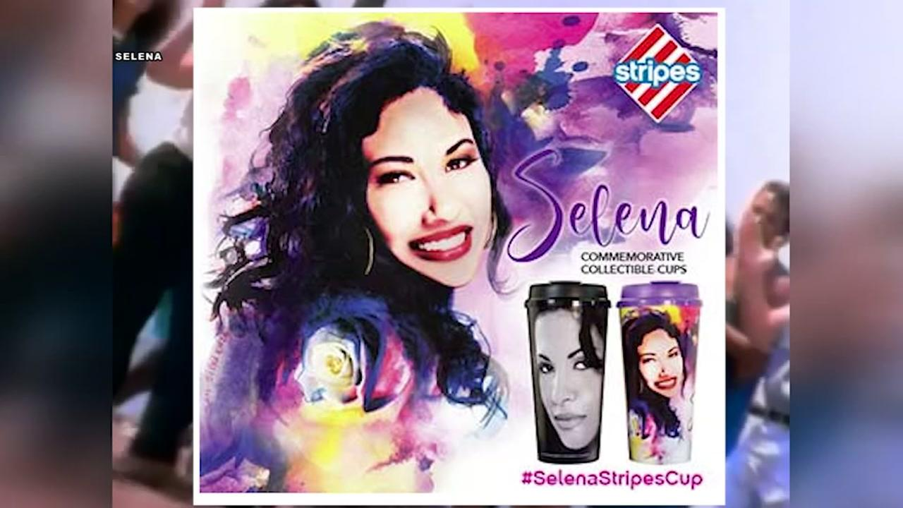 Selena commemorative cups going on sale