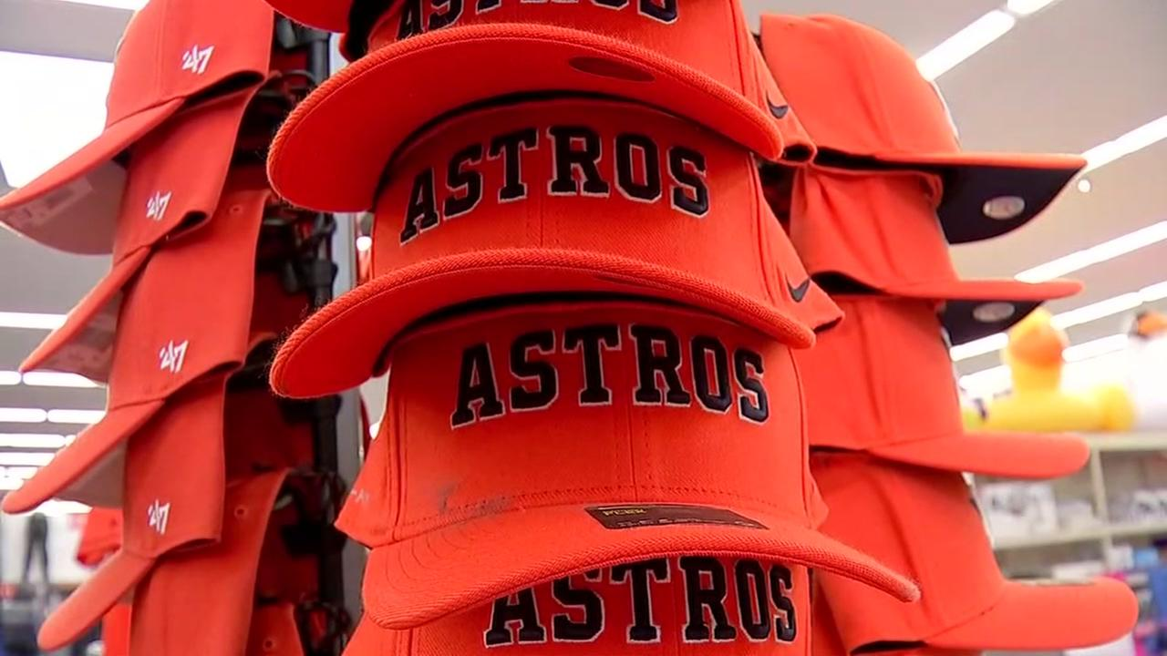 Astros merchandise going fast as home opener approaches