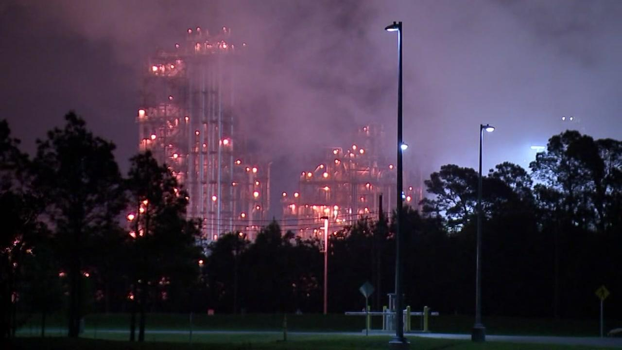 Baytown residents rocked by incident at Chevron Phillips