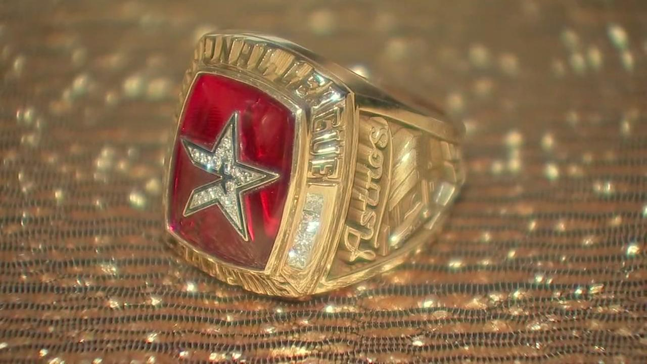 Houston Astros get rings today