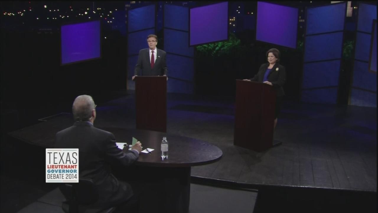 Patrick, Van de Putte go on attack in debate