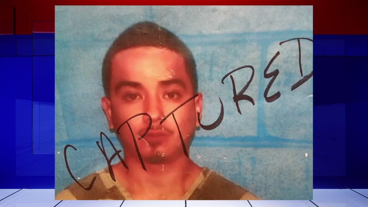 Fugutive captured in Mexico