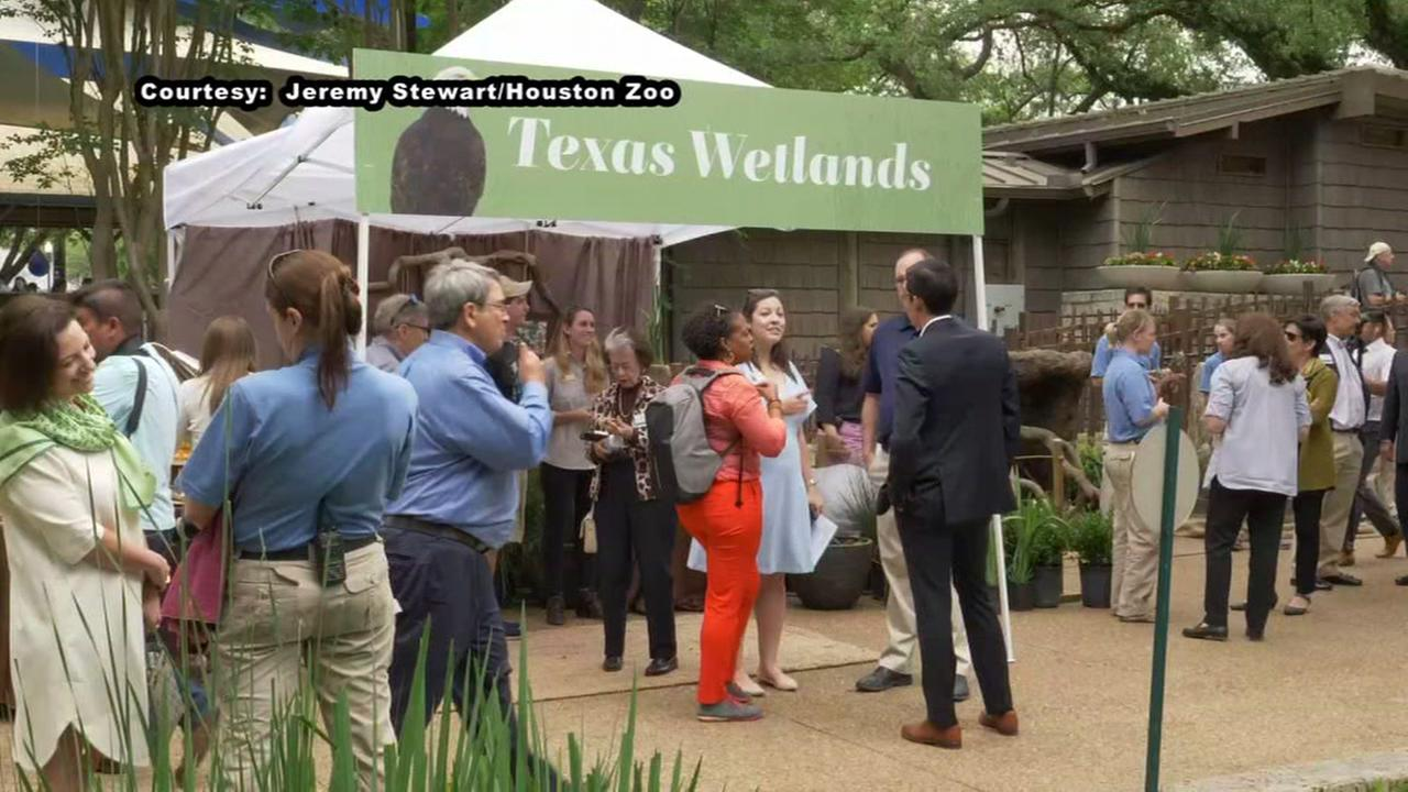 Houston Zoo announcement