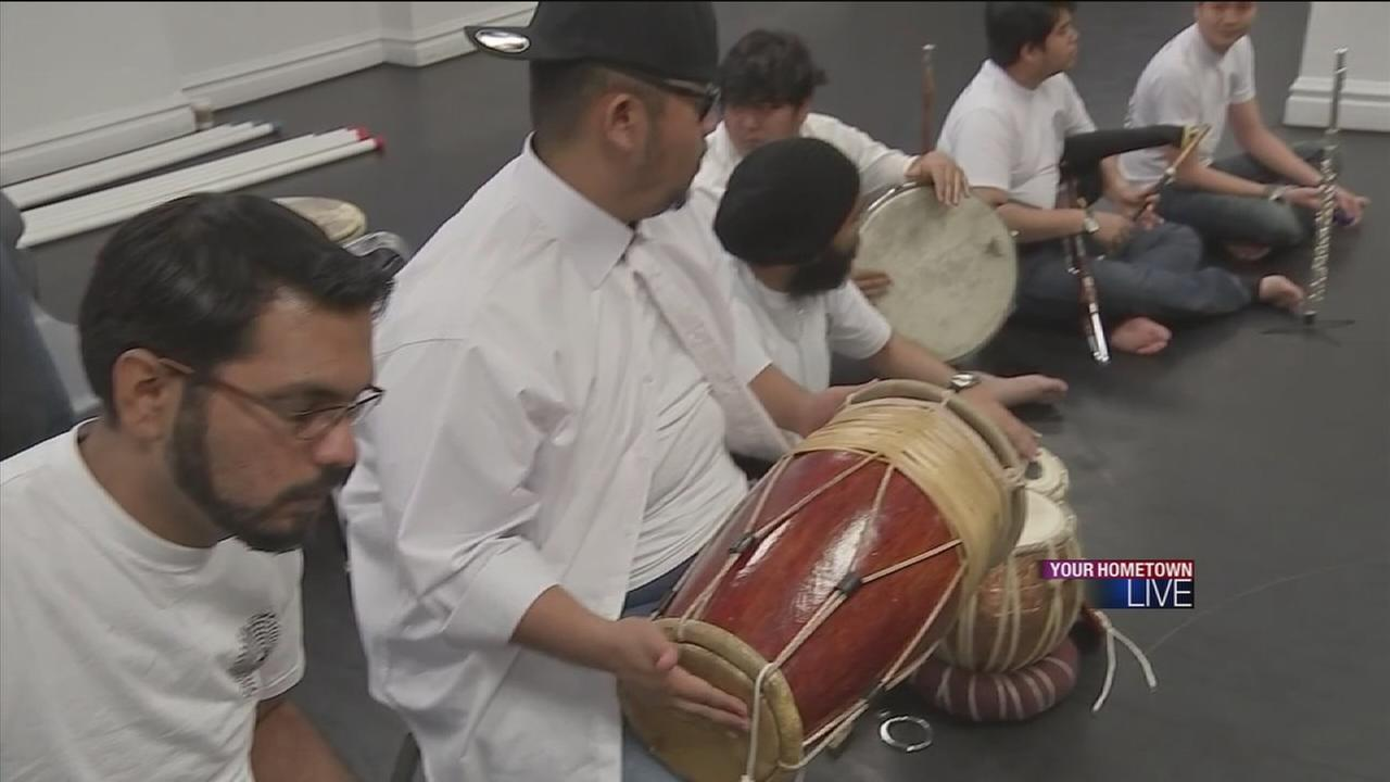 Drumming group brings music and more