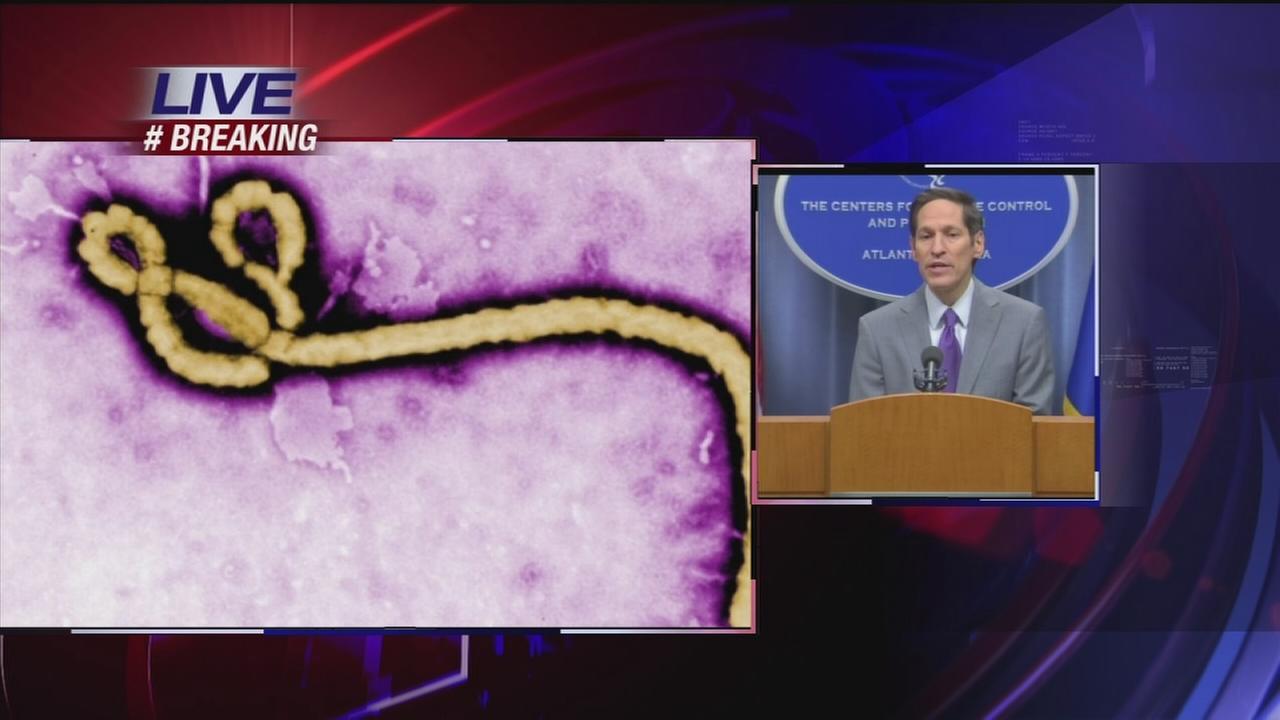 Press conference on Dallas Ebola case