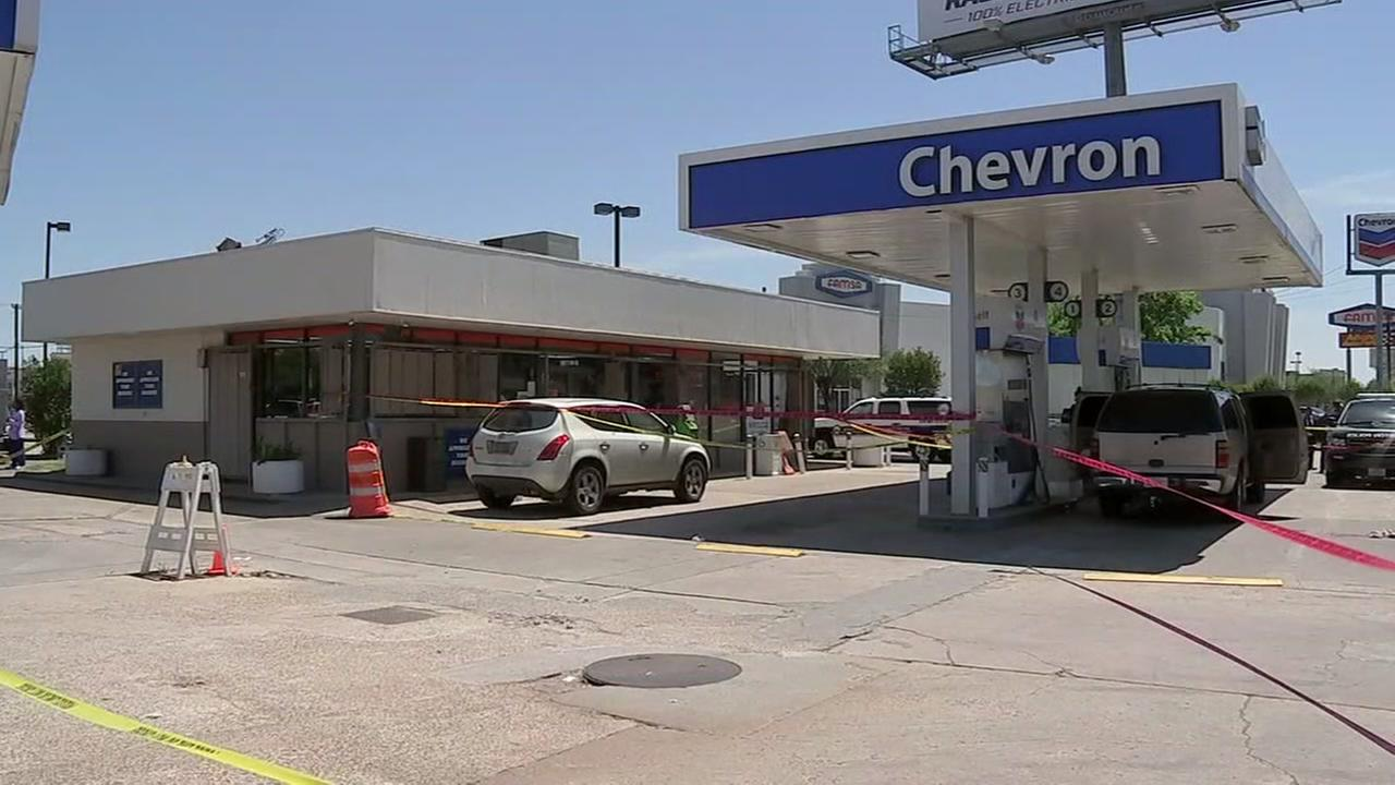 Man shot during argument over Slim Jim at gas station