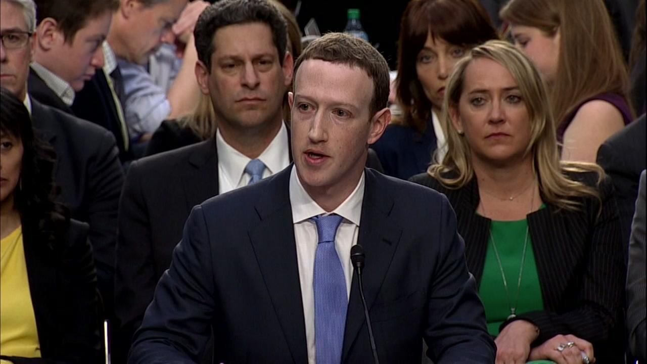 Facebook CEO faces congressional inquisition