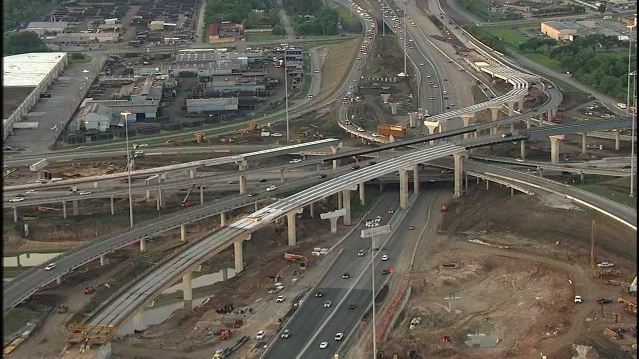 Highway 288 progress