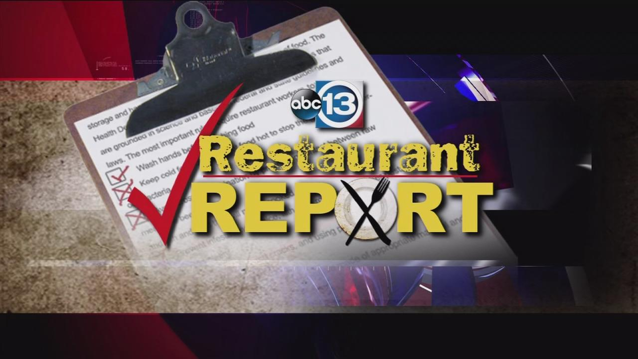 Restaurant Report as of October 1, 2014
