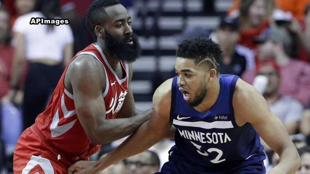 Rockets face Timberwolves on Sunday