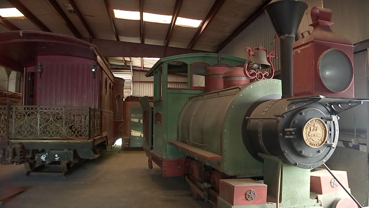 One-of-a-kind railcar driven by Roy Hofheinz now up for sale