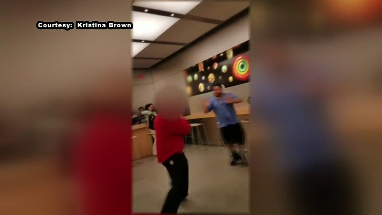 Brawl breaks out at Apple Store in Baybrook Mall