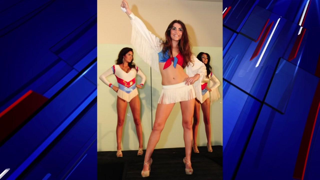 Woman who designed cheer uniform for Oilers Derrick Dolls
