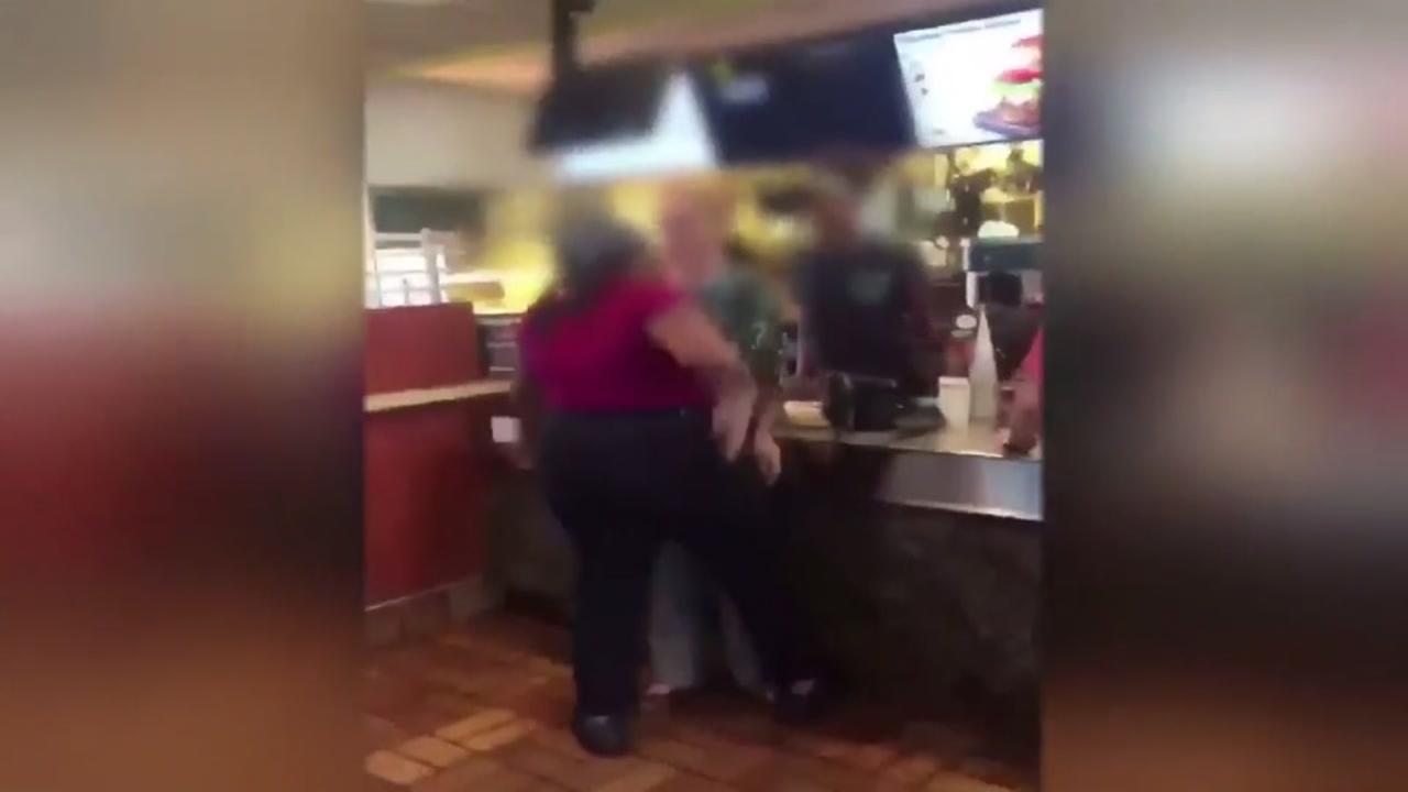 McDonalds employee slaps customer