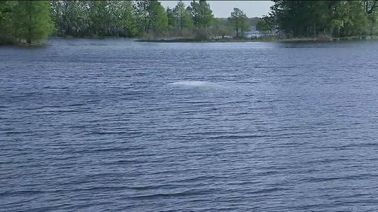 Submerged vehicle found in Lake Sheldon