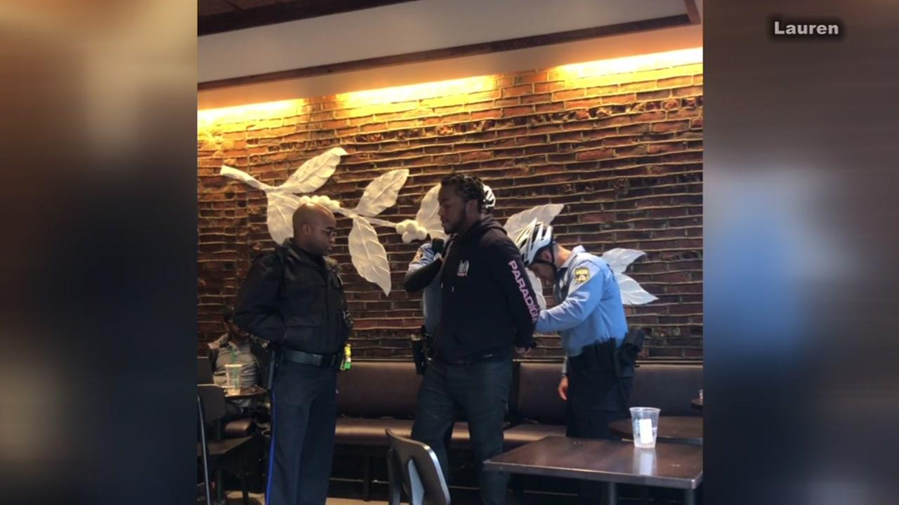 Starbucks CEO apologizes to two black men arrested in Philadelphia