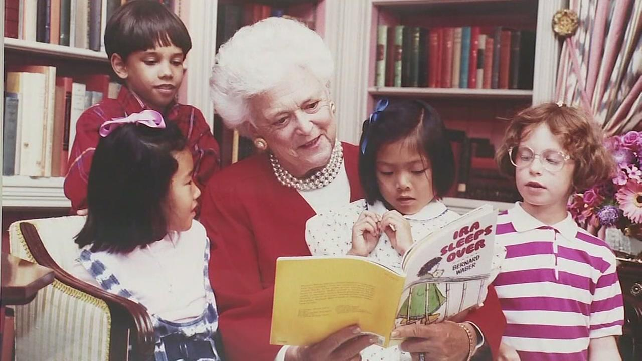 Harvey-damaged Barbara Bush Library to reopen in May