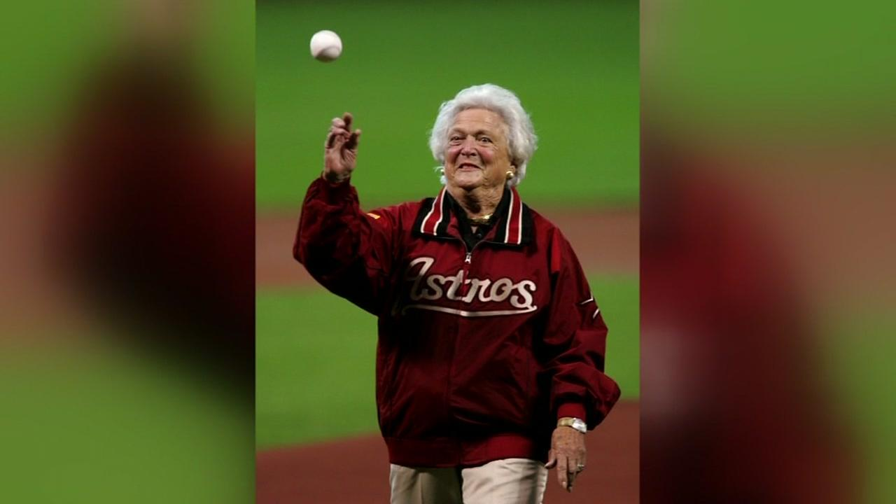 Houston leaders remember Barbara Bush