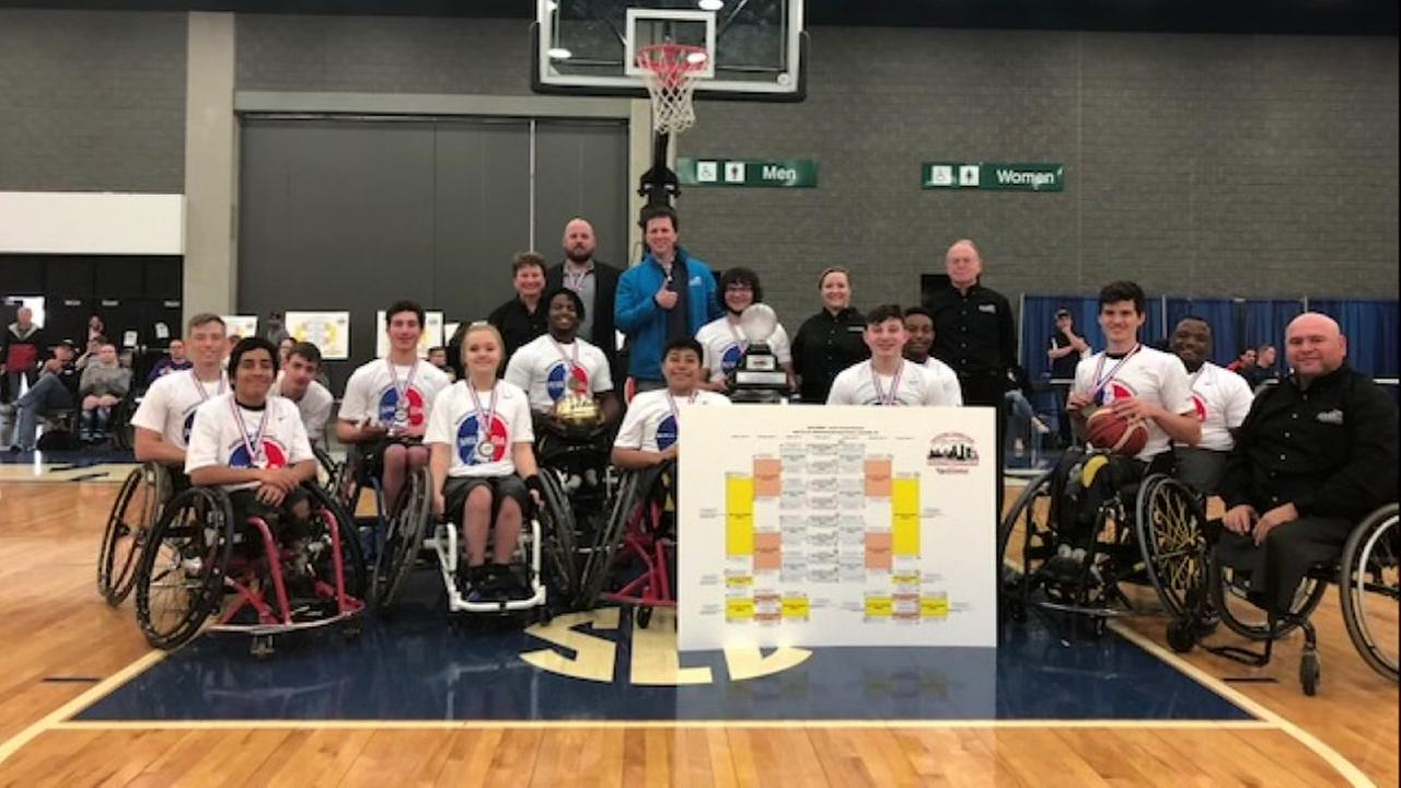 Houston junior wheelchair basketball team headed to national championship