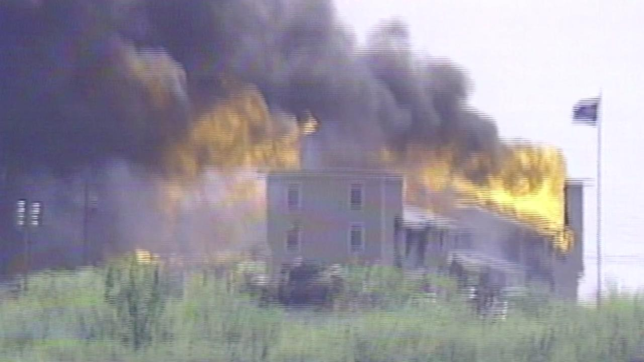 END OF WACO SIEGE