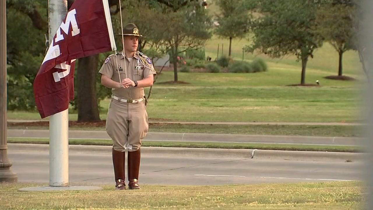 Texas A&M students looking forward to procession