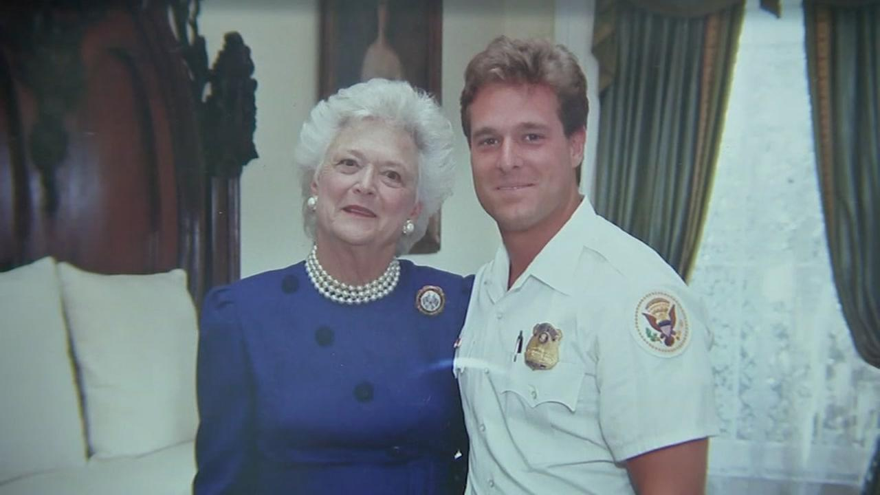 Secret Service agents honored to stand watch at services for Barbara Bush