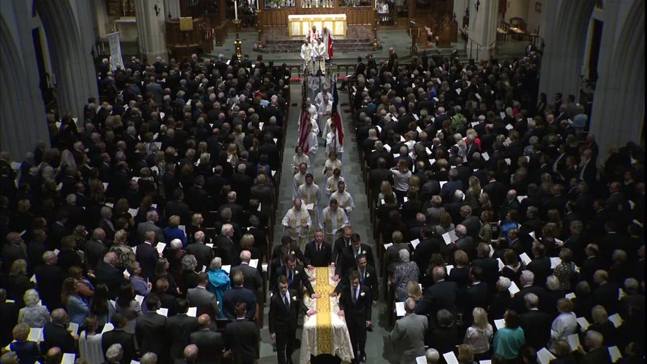 Funeral of Barbara Bush