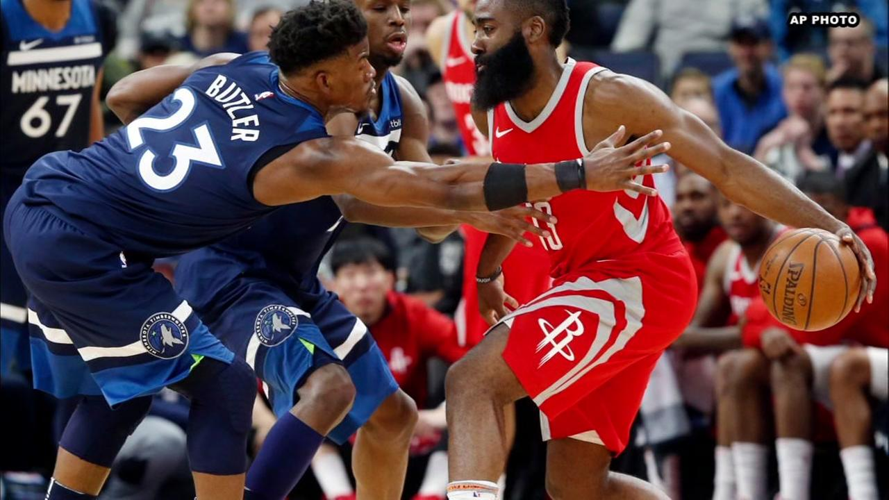 Rockets and Timberwolves face off in Game 3 of first-round series