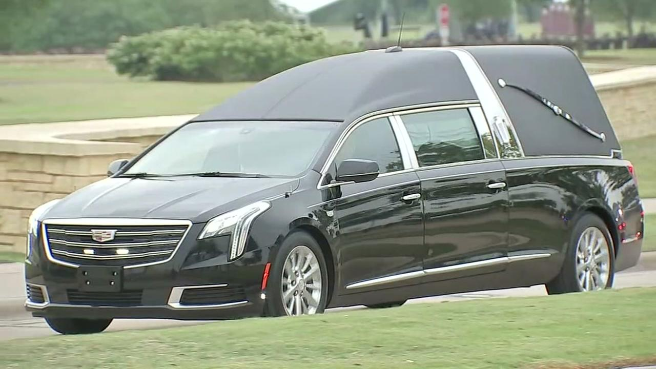Mourners remember Barbara Bush in College Station