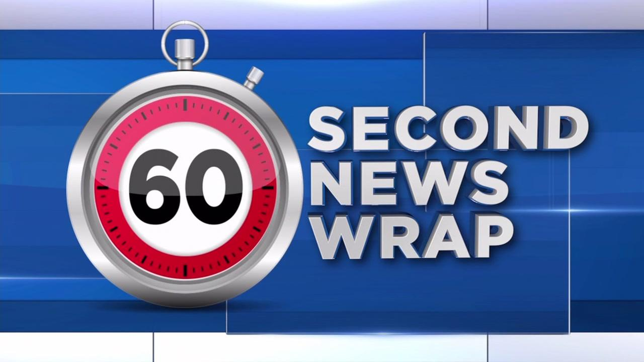 60 second news wrap