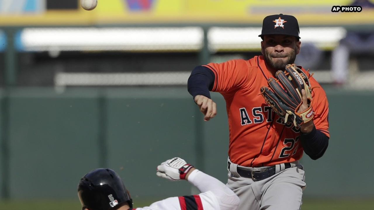 Astros beat White Sox