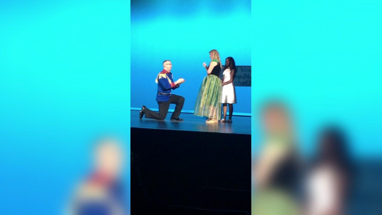 Frozen sign language proposal