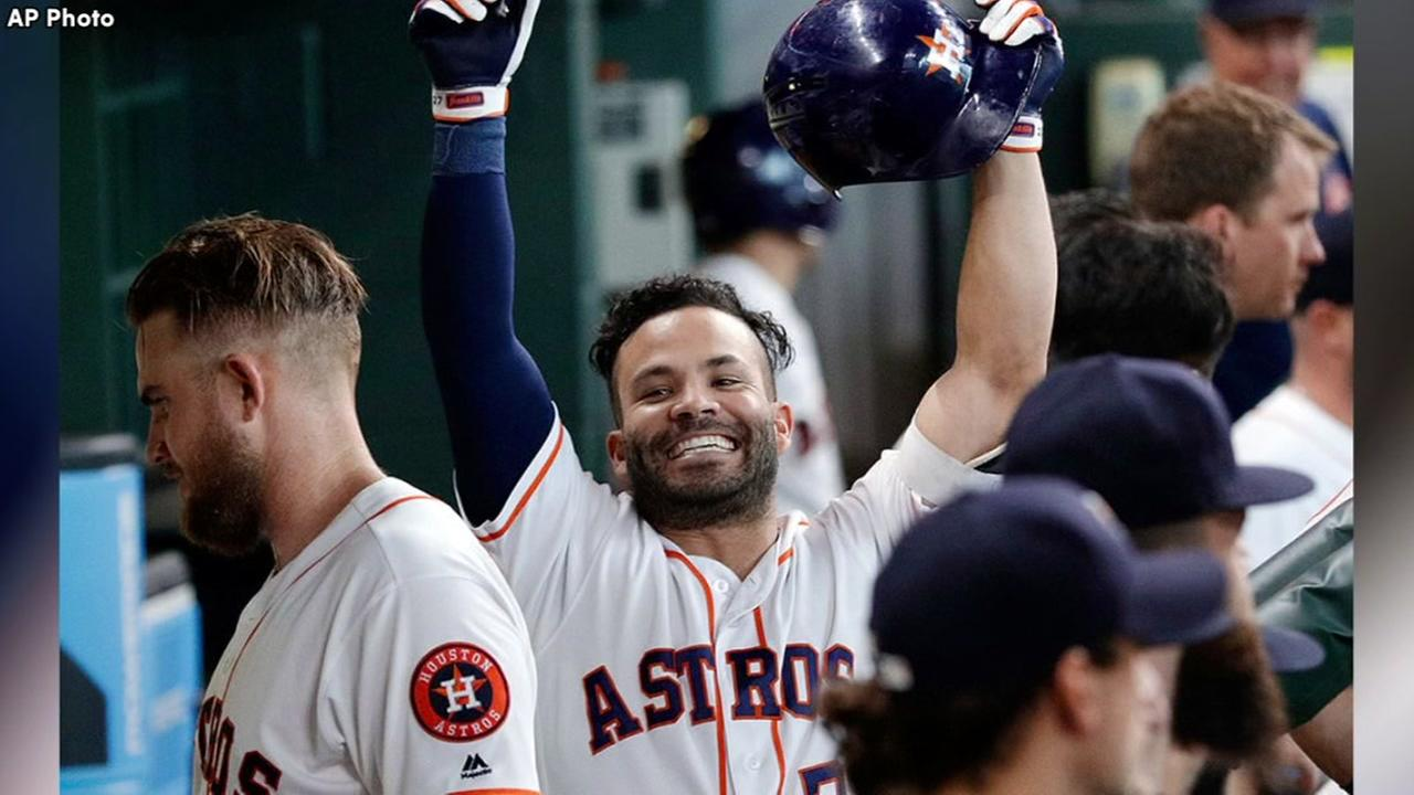 Houston Astros salvage series with Angels and win 5-2