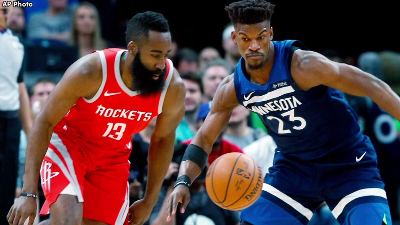 Rockets looking for knockout blow against T-Wolves in Game 5