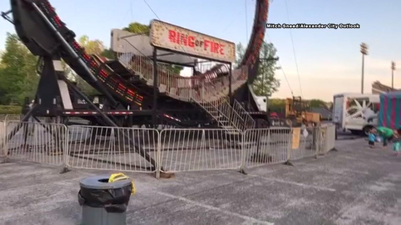 Carnival worker falls to his death