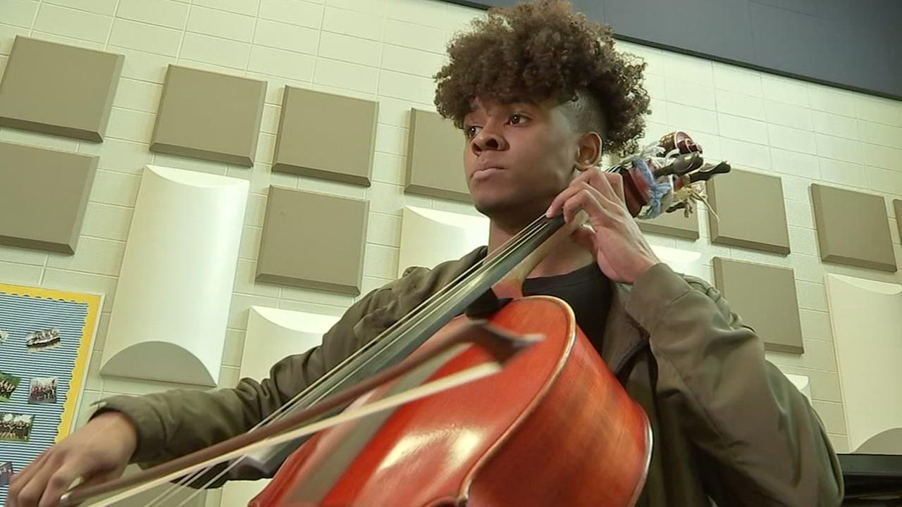 Meet the hard-of-hearing cello player turned music prodigy