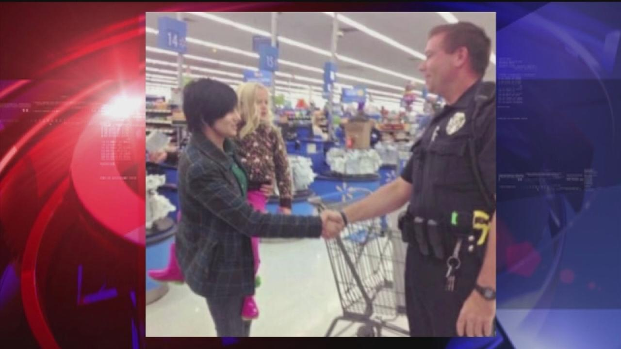 Officer buys carseat for woman after traffic stop