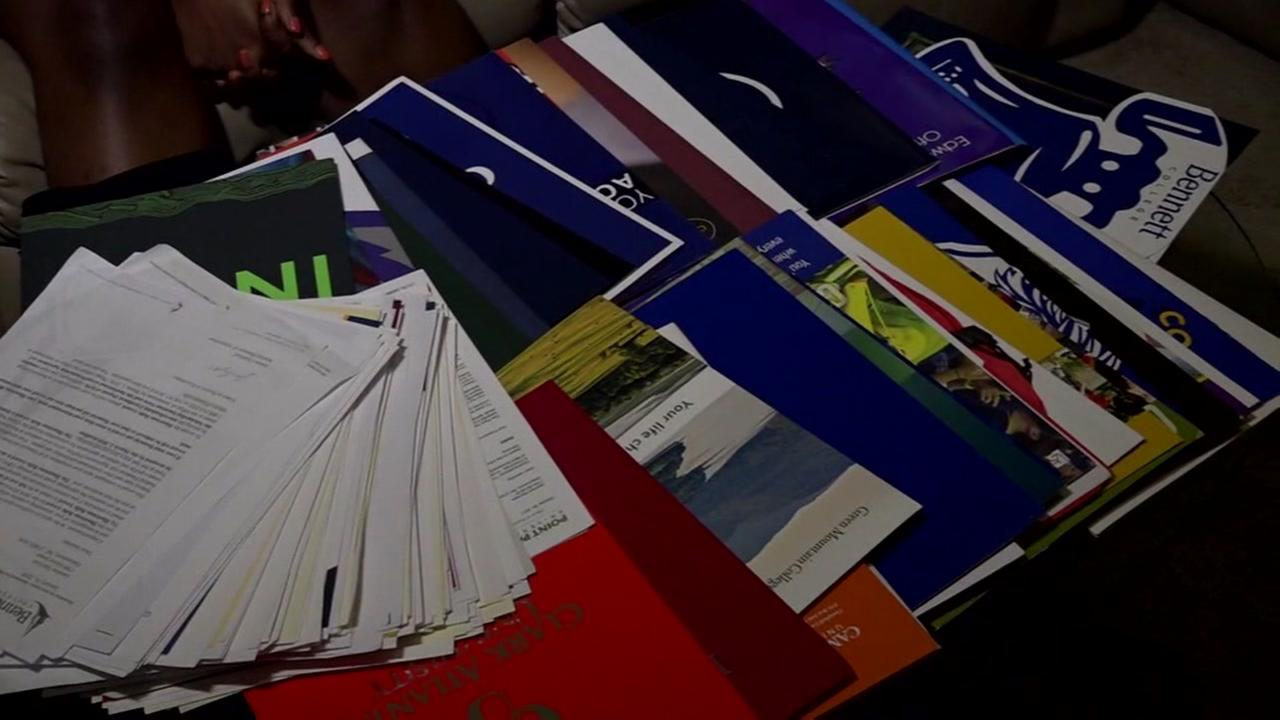 North Carolina studen accepted to 113 colleges