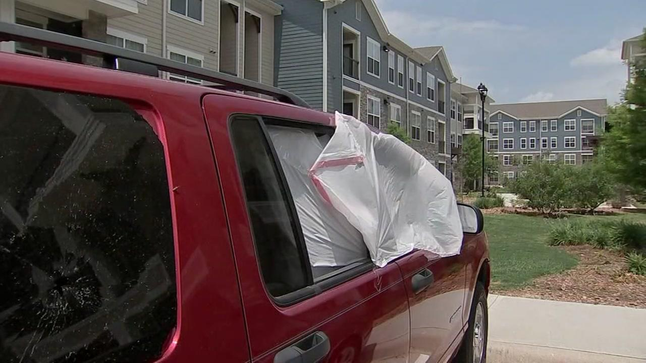 Car owners in Tomball cleaning up after break-ins