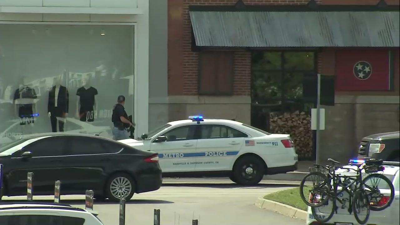 RAW: Police search for suspect at Opry Mills Mall
